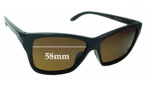 Sunglass Fix Sunglass Replacement Lenses for Oakley Hold On OO9298 - 58mm Wide