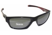Sunglass Fix Sunglass Replacement Lenses for Oakley Jupiter Carbon OO9220 - 56mm Wide