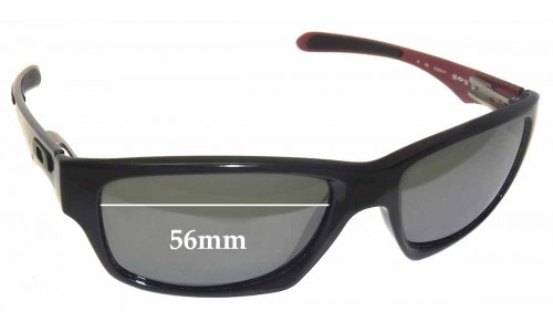 Sunglass Fix Sunglass Replacement Lenses for Oakley Jupiter Carbon OO9220 - 56mm Wide