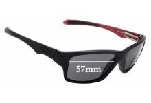 Sunglass Fix Sunglass Replacement Lenses for Oakley Jupiter Factory Lite OO4066 - 57mm Wide