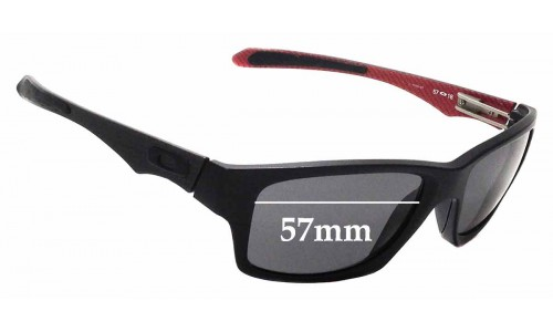 Sunglass Fix Sunglass Replacement Lenses for Oakley Jupiter Factory Lite OO4066 - 57mm Wide