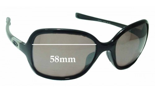 Sunglass Fix Sunglass Replacement Lenses for Oakley Obsessed OO9192 - 58mm Wide