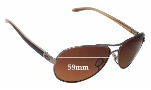 Sunglass Fix Sunglass Replacement Lenses for Oakley OO4079 Feedback - 59mm wide