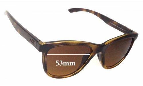 Sunglass Fix Sunglass Replacement Lenses for Oakley OO9320 Moonlighter - 53mm wide