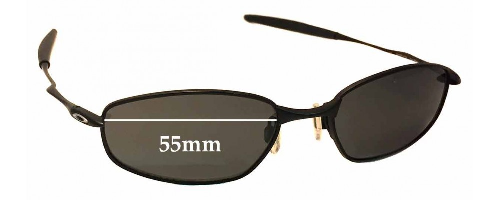 941f470f84 Sunglass Fix Sunglass Replacement Lenses for Oakley OX3107 Whisker - 55mm  wide