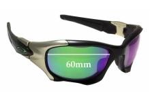 Sunglass Fix Sunglass Replacement Lenses for Oakley Pit Boss II OO9215 - 60mm Wide