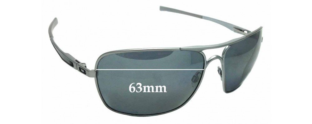 f018e955b1 Sunglass Fix Sunglass Replacement Lenses for Oakley Plaintiff Squared OO4063  - 63mm wide