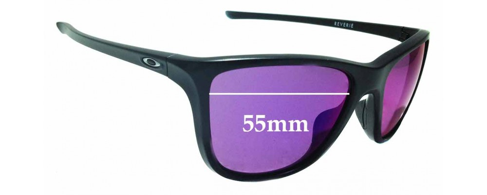 f8a97c3f6b2ae Sunglass Fix Sunglass Replacement Lenses for Oakley Reverie OO9362 - 55mm  Wide