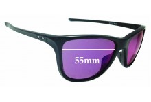 Sunglass Fix Sunglass Replacement Lenses for Oakley Reverie OO9362 - 55mm Wide