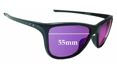 Sunglass Fix Sunglass Replacement Lenses for Oakley Reverie OO9362 - 55mm Wide