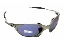 Sunglass Fix Sunglass Replacement Lenses for Oakley X Metal Romeo 1.0 OO1529 - 58mm Wide