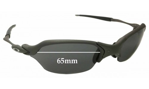 Sunglass Fix Sunglass Replacement Lenses for Oakley X Metal Romeo 2.0 65mm wide