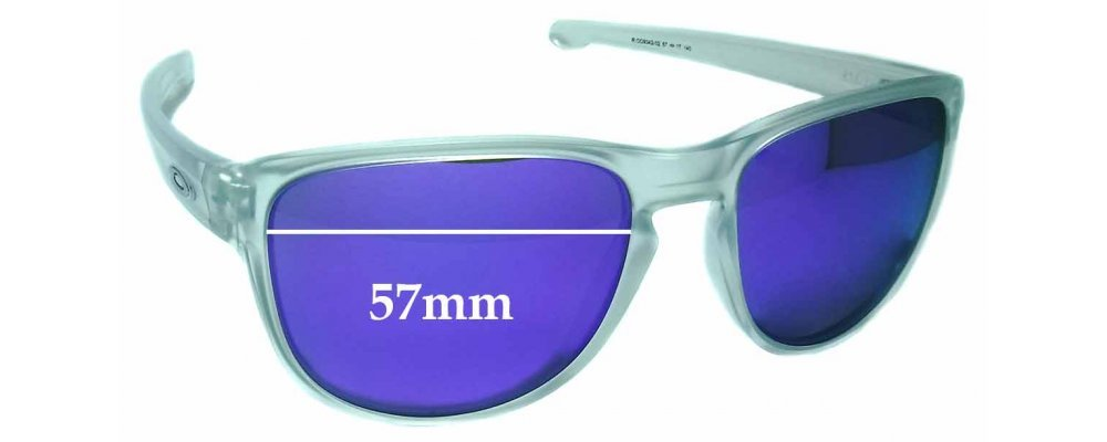 286ea1ef98f Sunglass Fix Sunglass Replacement Lenses for Oakley Sliver R OO9342 - 57mm  wide