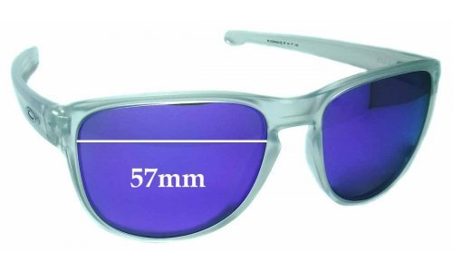 Sunglass Fix Sunglass Replacement Lenses for Oakley Sliver R OO9342 - 57mm Wide