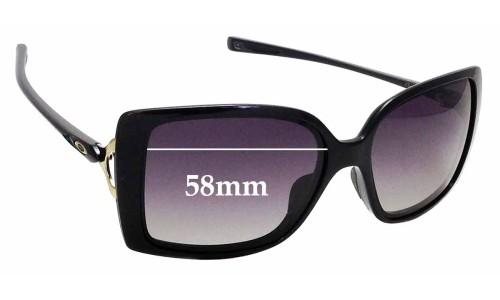 Sunglass Fix Sunglass Replacement Lenses for Oakley Splash OO9258 - 58mm wide