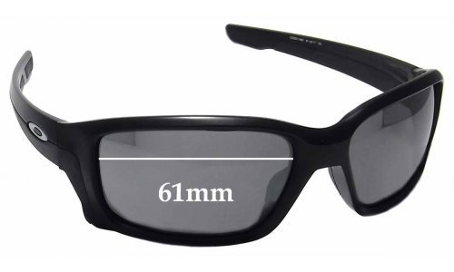 Sunglass Fix Sunglass Replacement Lenses for Oakley Straightlink OO9331 - 61mm wide