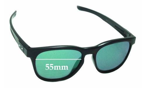 Sunglass Fix Sunglass Replacement Lenses for Oakley Stringer OO9315 - 55mm Wide
