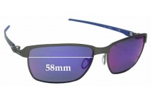 Sunglass Fix Sunglass Replacement Lenses for Oakley Tinfoil Carbon OO6018 - 58mm Wide