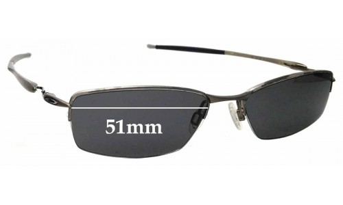 Sunglass Fix Sunglass Replacement Lenses for Oakley Transistor - 51mm Wide