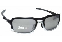 Sunglass Fix Sunglass Replacement Lenses for Oakley Triggerman Asian Fit OO9314 - 56mm Wide