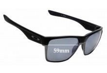 Sunglass Fix Sunglass Replacement Lenses for Oakley TwoFace XL OO9350 - 59mm Wide