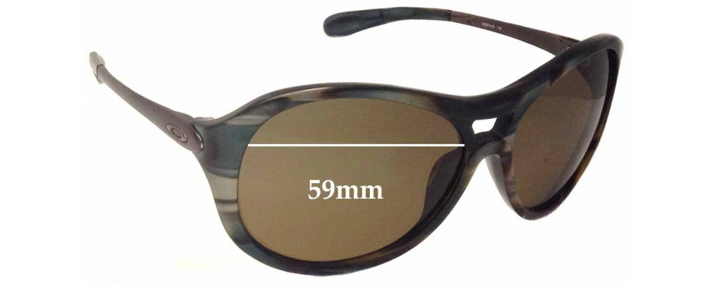 Sunglass Fix Sunglass Replacement Lenses for Oakley Vacancy OO2014 - 59mm Wide