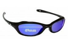 Sunglass Fix Sunglass Replacement Lenses for Oakley Fives XS - 49mm Wide