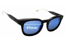 Sunglass Fix Sunglass Replacement Lenses for Oliver Peoples West Cabrillo - 49mm Wide