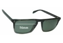 86354e10da Sunglass Fix Sunglass Replacement Lenses for Oliver Peoples Bernado  OV5189-S - 54mm wide