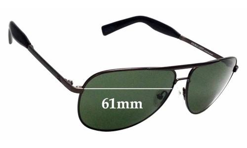 Sunglass Fix Sunglass Replacement Lenses for Otis Double Lucky - 61mm wide