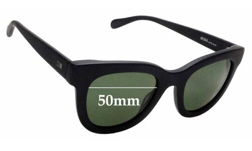 Sunglass Fix Sunglass Replacement Lenses for Otis Mona - 50mm wide