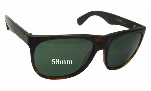 Sunglass Fix Sunglass Replacement Lenses for Otis Nevermind - 58mm Wide