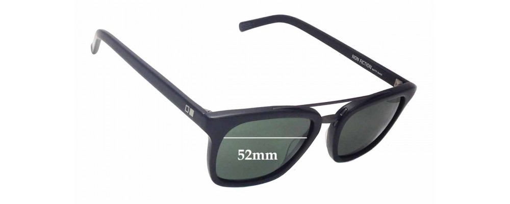 fd79802eeae Otis Non Fiction Sunglass Replacement Lenses - 52mm wide
