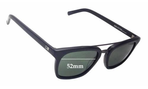 Sunglass Fix Sunglass Replacement Lenses for Otis Non Fiction - 52mm Wide