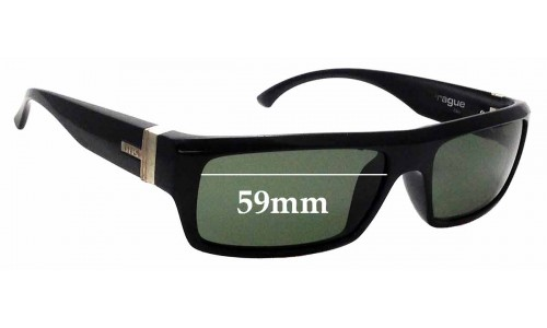 Sunglass Fix Sunglass Replacement Lenses for Otis Prague - 59mm wide