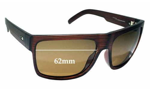 Sunglass Fix Sunglass Replacement Lenses for Otis Road Trippin - 62mm Wide