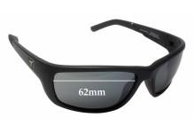 Sunglass Fix Sunglass Replacement Lenses for Panoptx Ventus F1301 - 62mm Wide