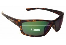 Sunglass Fix Sunglass Replacement Lenses for Peppers Nomad - 61mm Wide