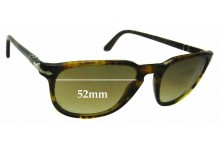 Sunglass Fix Sunglass Replacement Lenses for Persol 3019-S - 52mm Wide