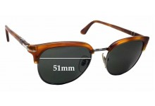 Sunglass Fix Sunglass Replacement Lenses for Persol 3105-S - 51mm Wide