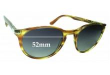 Sunglass Fix Sunglass Replacement Lenses for Persol 3152-S - 52mm Wide