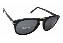 Sunglass Fix Sunglass Replacement Lenses for Persol Steve McQueen 714SM - 54mm Wide