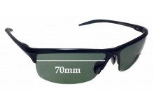 Sunglass Fix Sunglass Replacement Lenses for Police MOD 1626 - 70mm Wide *Professional Installation Recommended*