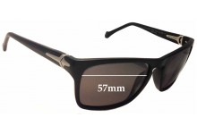 Sunglass Fix Sunglass Replacement Lenses for Police S1810 Village - 57mm Wide