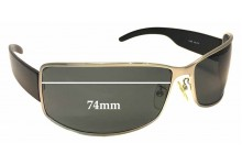 Sunglass Fix Sunglass Replacement Lenses for Police S8095 - 73mm Wide