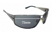 Sunglass Fix Sunglass Replacement Lenses for Police S8362 - 72mm Wide *Professional Installation Recommended*