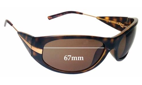 Sunglass Fix Sunglass Replacement Lenses for Prada SPR07I - 67mm lens