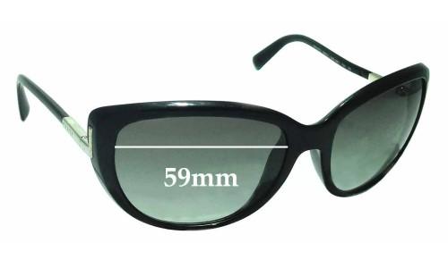 Sunglass Fix Sunglass Replacement Lenses for Prada SPR07O - 59mm Wide