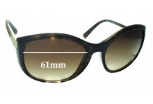 Sunglass Fix Sunglass Replacement Lenses for Prada SPR09N - 61mm Wide