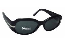 Sunglass Fix Sunglass Replacement Lenses for Prada SPR13H - 56mm Wide